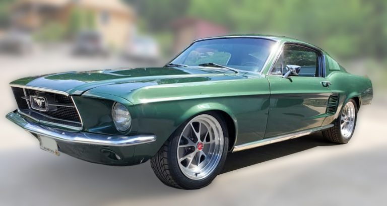 1967 Ford Mustang Fastback 5.0 Coyote - Cain's Kustoms